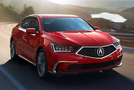 Red Acura RLX