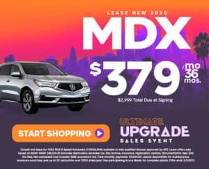 Lease New 2020 Acura MDX - Duluth, GA