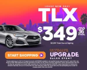 Lease New 2021 Acura TLX - Duluth, GA