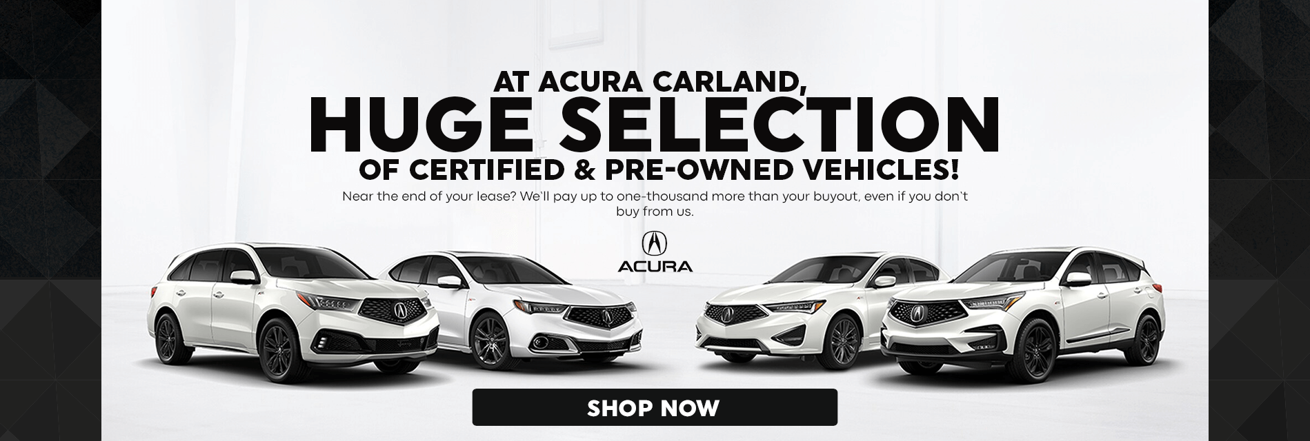 Huge Selection of Certified Pre-Owned Vehicles