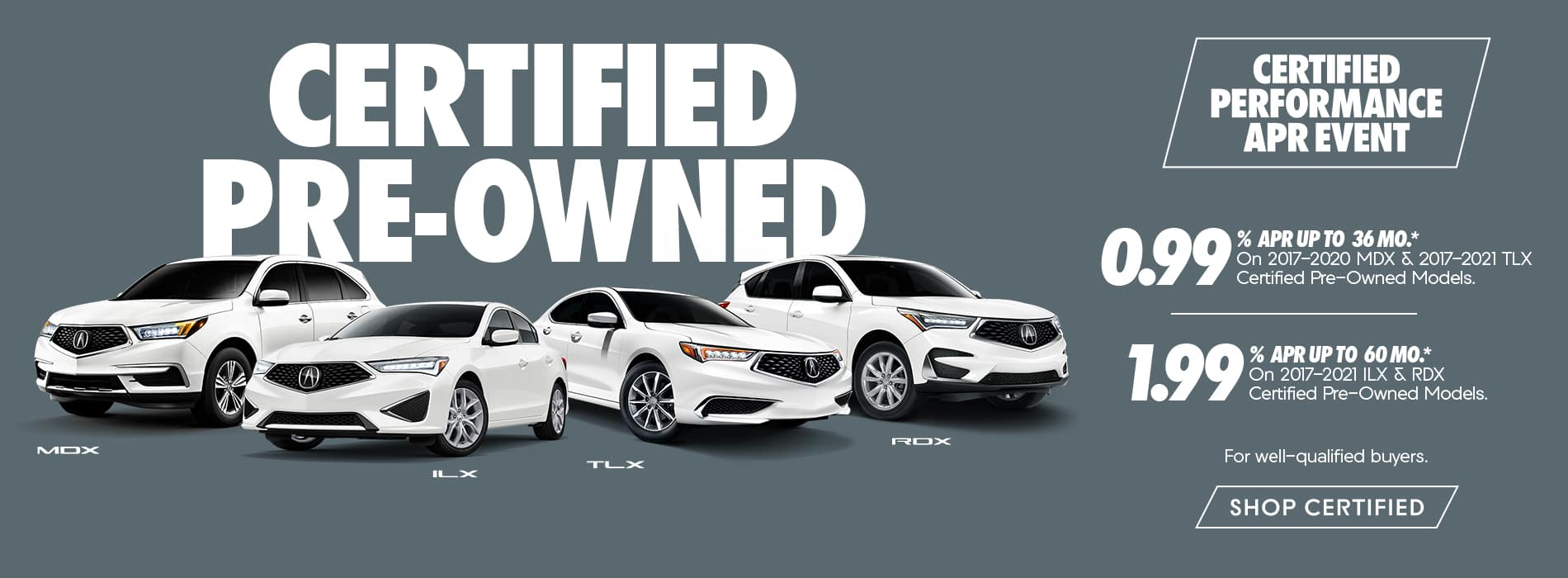 Certified Pre-Owned Acura Offers Certified Performance APR Event Duluth GA