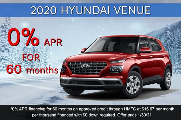 SPECIAL New 2020 Hyundai Venue