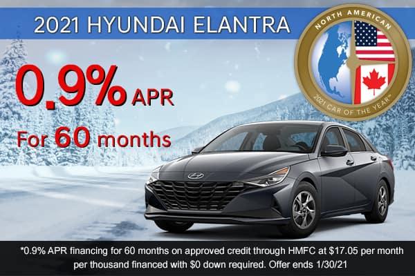 SPECIAL New 2021 Hyundai Elantra