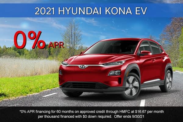 SPECIAL New 2021 Hyundai Kona EV