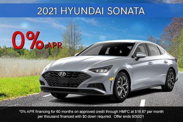 SPECIAL New 2021 Hyundai Sonata