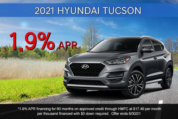SPECIAL New 2021 Hyundai Tucson