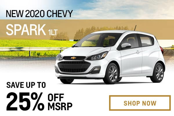 New 2020 Chevy Spark 1LT