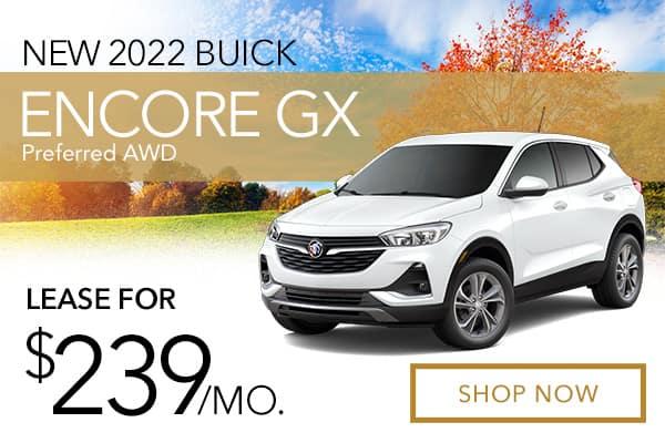 New 2021 Buick Encore GX Preferred AWD