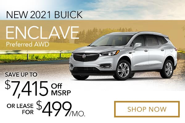 New 2021 Buick Enclave Preferred AWD