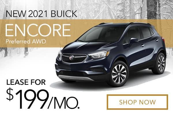 New 2021 Buick Encore Preferred AWD