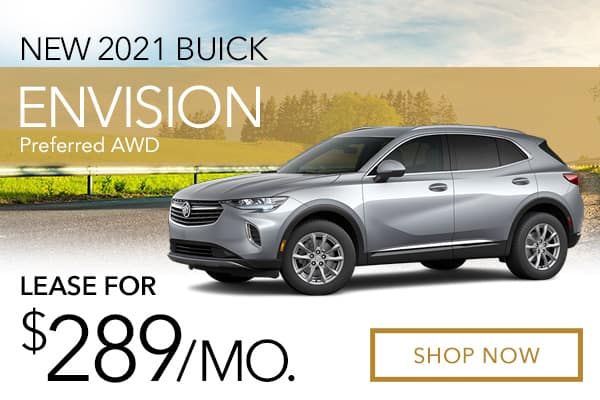 New 2021 Buick Envision Preferred AWD
