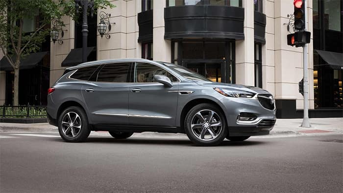 Buick Enclave Turning A Corner