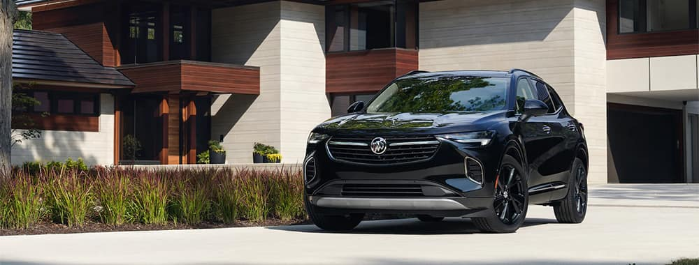 Buick Envision Parked in Front of Home