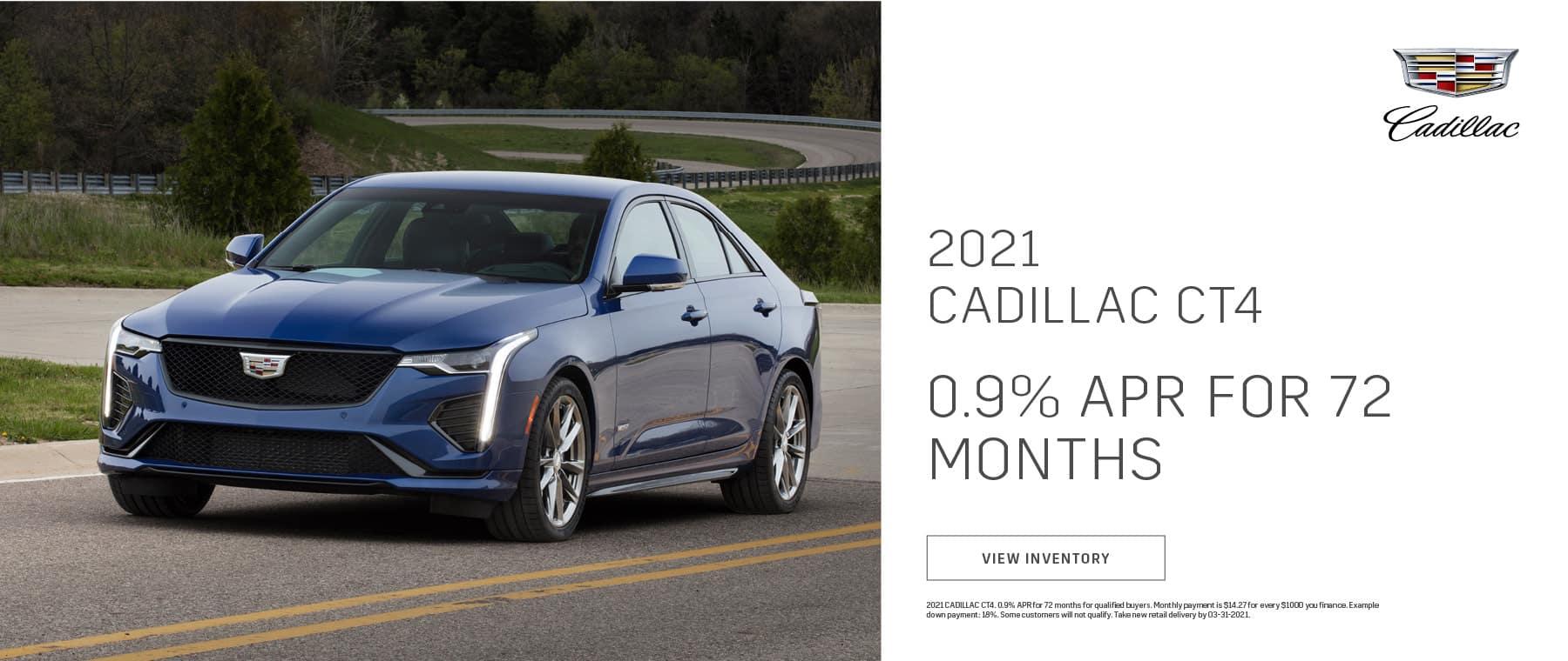 2021 Cadillac CT4   Bert Ogden Cadillac   Mission, TX