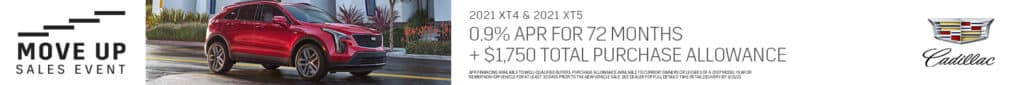 Cadillac Move Up Sales Event - 0.9% APR For 72 Months | Bert Ogden Cadillac | Mission, TX