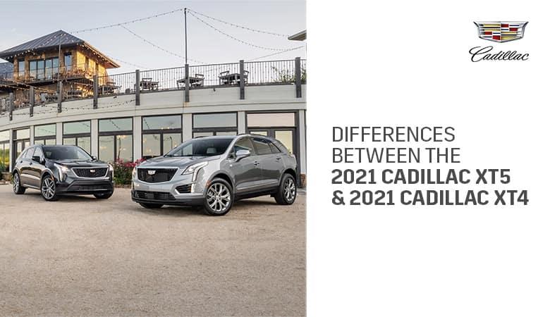 2021 Cadillac XT4 and XT5 | Bert Ogden Cadillac | Mission, TX