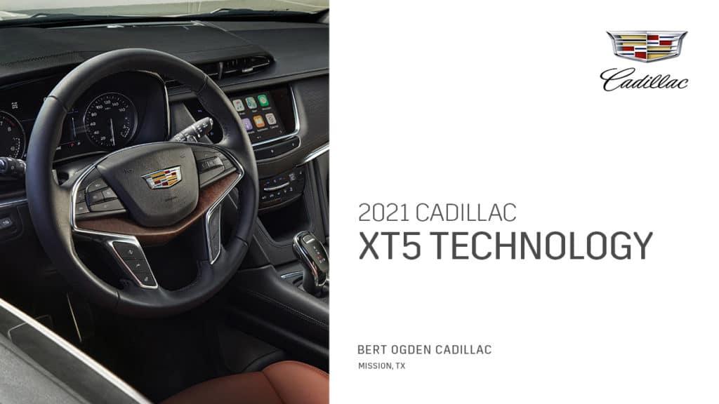 2021 Cadillac XT5 Technology | Bert Ogden Cadillac | Mission, TX