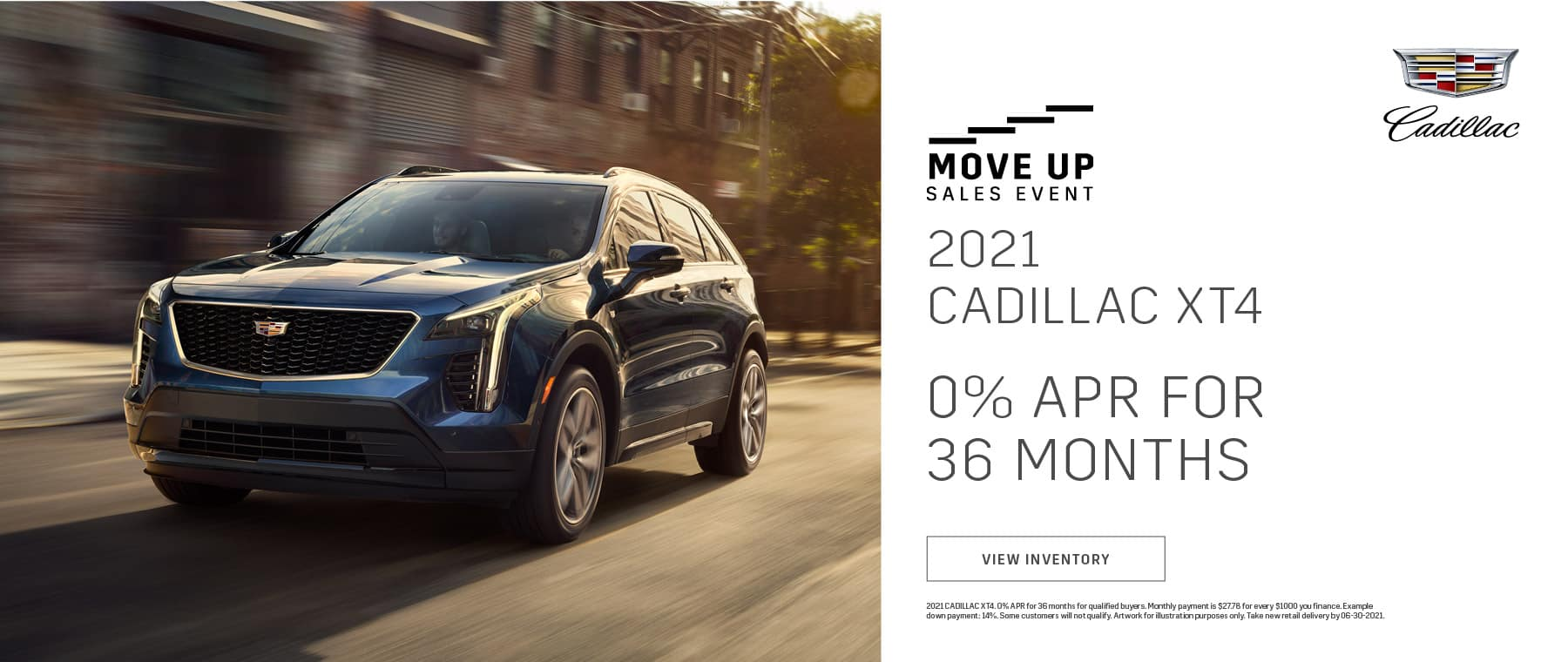2021 Cadillac XT4 - Move Up Sales Event - Bert Ogden Cadillac in Mission, Texas