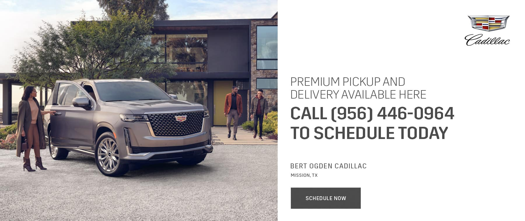 Premium Pickup and Delivery - Bert Ogden Cadillac in Mission, Texas
