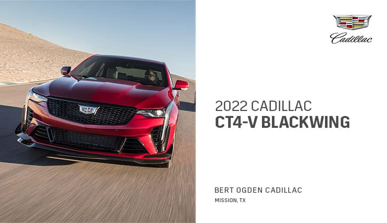 2022 Cadillac CT4-V Blackwing - Bert Ogden Cadillac in Mission, Texas
