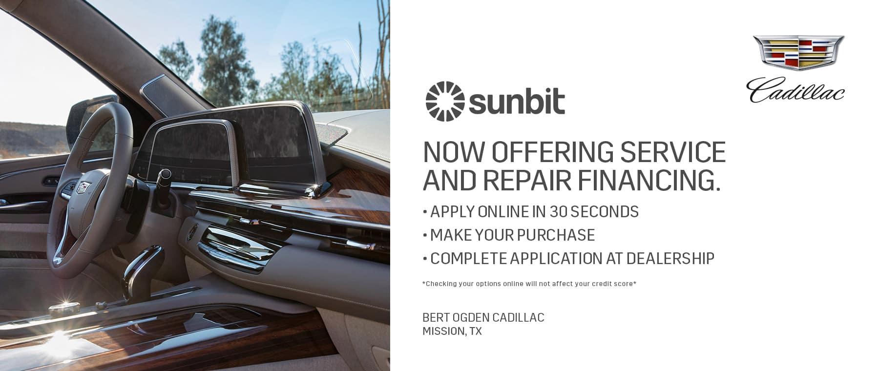 Sunbit Financing   Mission, TX