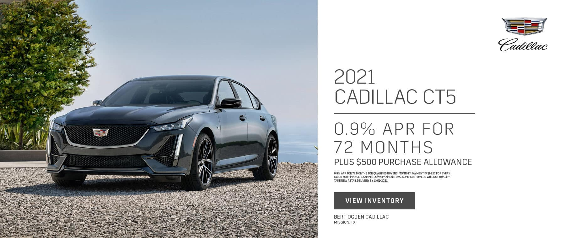 2021 Cadillac CT5 Offer   Bert Ogden Cadillac in Mission, Texas