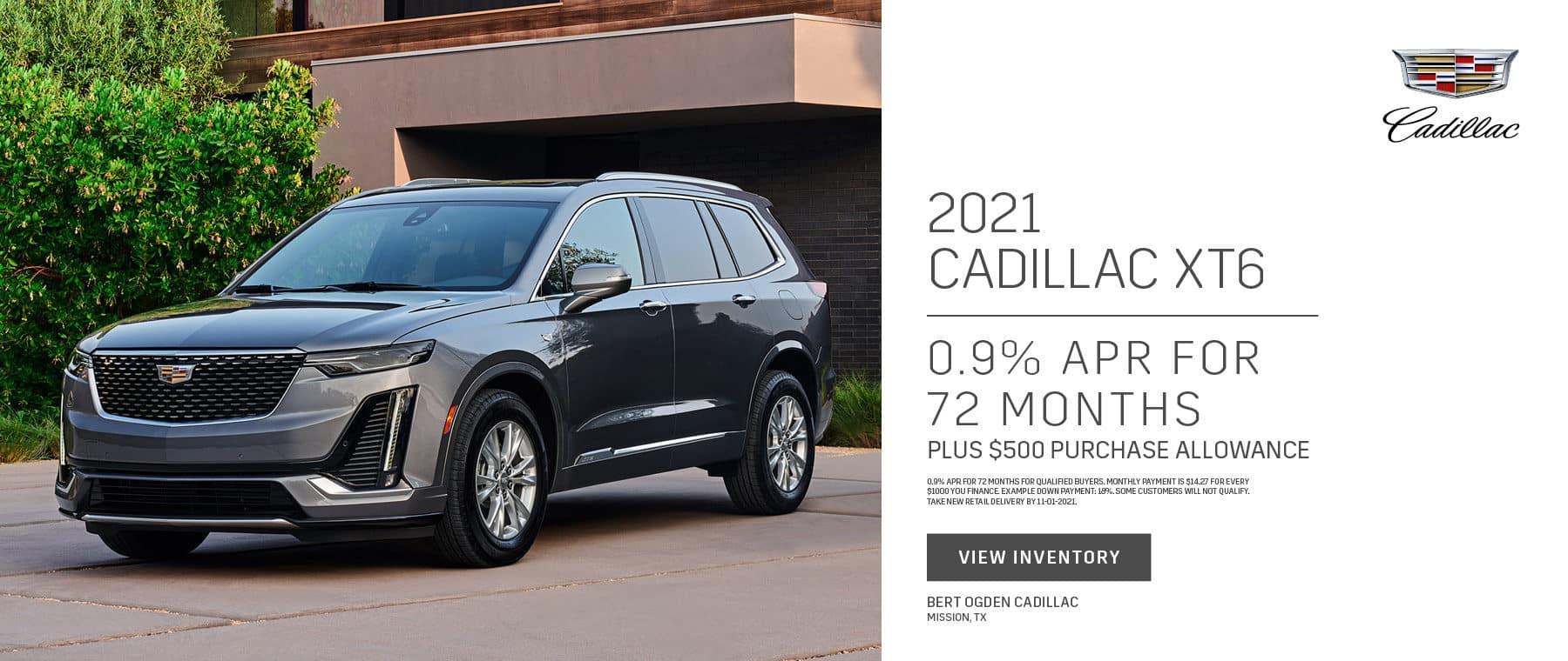 2021 Cadillac XT6 Offer   Bert Ogden Cadillac in Mission, Texas