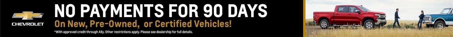 No Payments For 90 Days | Bert Ogden Chevrolet | Mission, TX