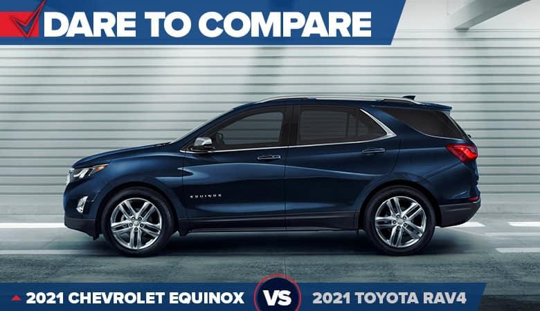 2021 Chevrolet Equinox vs. 2021 Toyota RAV4 | Bert Ogden Chevrolet | Mission, TX