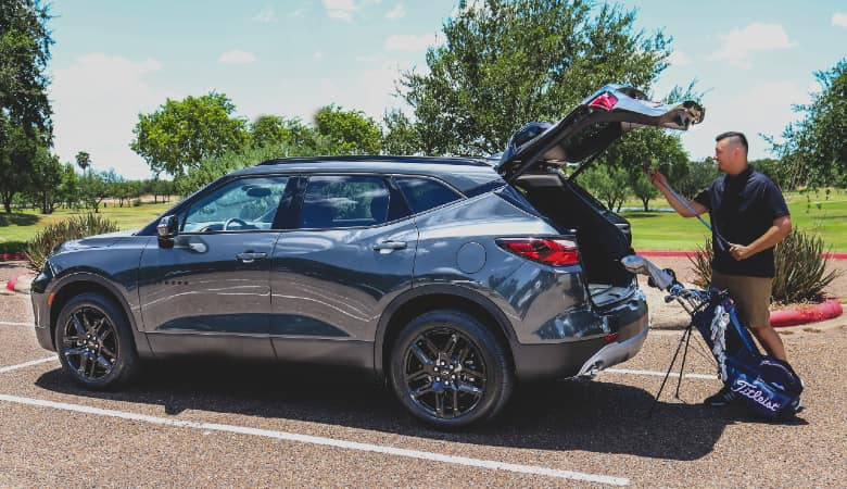 2021 Chevy Blazer at Golf Course   Mission, TX