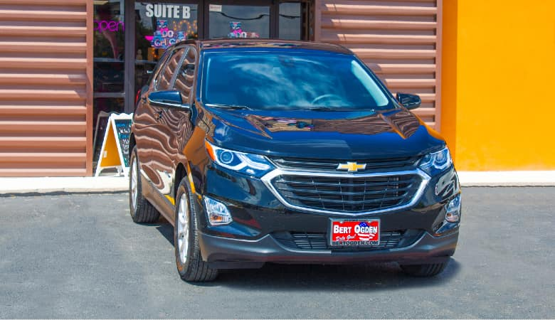 2021 Chevrolet Equinox at a store | Mission, TX