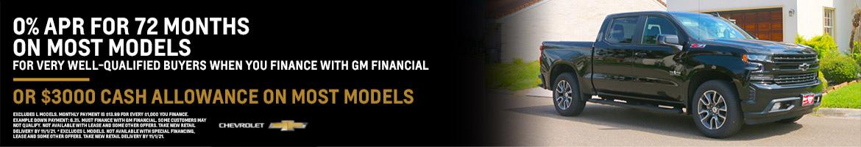 0% APR or $3K Cash Allowance on Most Chevrolet Models | Bert Ogden Chevrolet in Mission, Texas