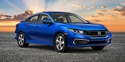 New 2021 Honda Civic LX FWD