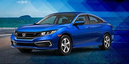 New 2021 Honda Civic LX FWD CVT