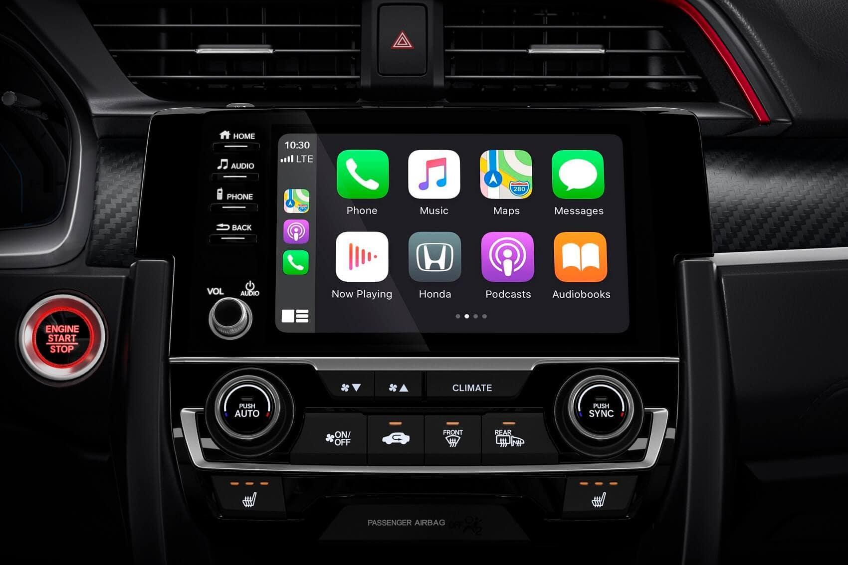 Honda Civic Interior Technology