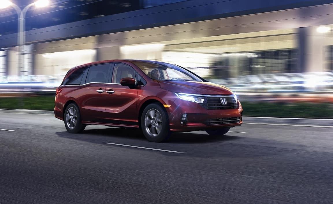 2021 Honda Odyssey Engine Specs
