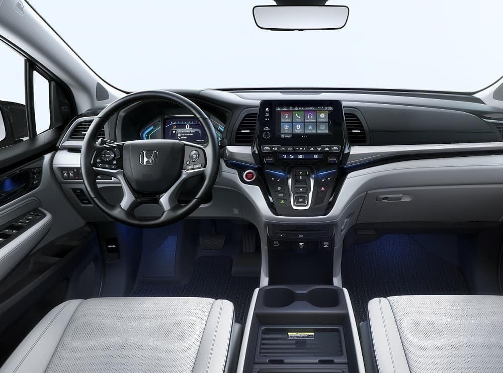 2021 Honda Odyssey Interior Technology