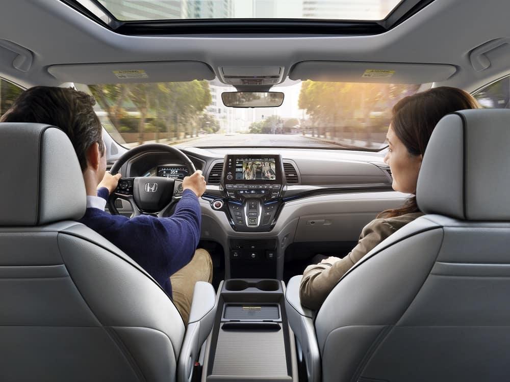 2021 Honda Odyssey Interior Safety Technology