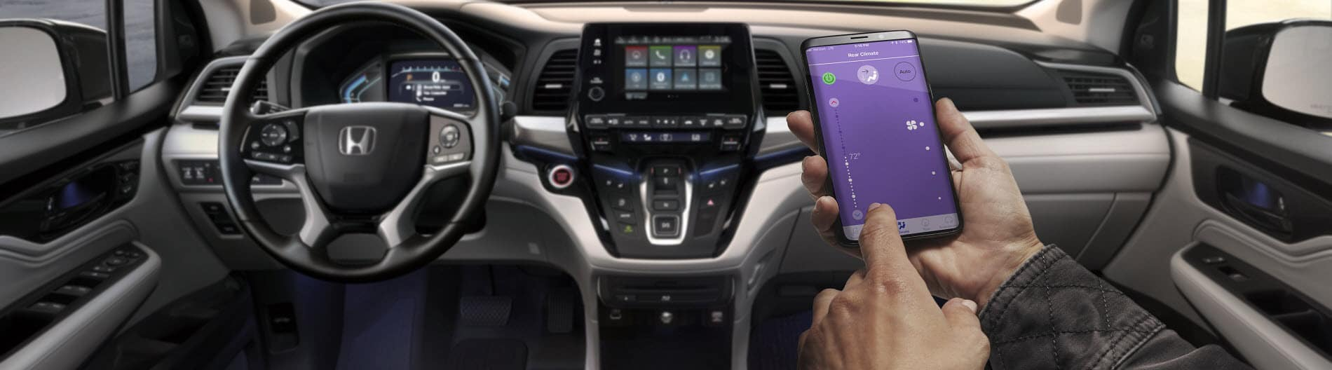2021 Honda Odyssey Interior Dashboard