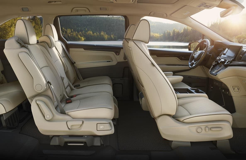 2021 Honda Odyssey Interior Space