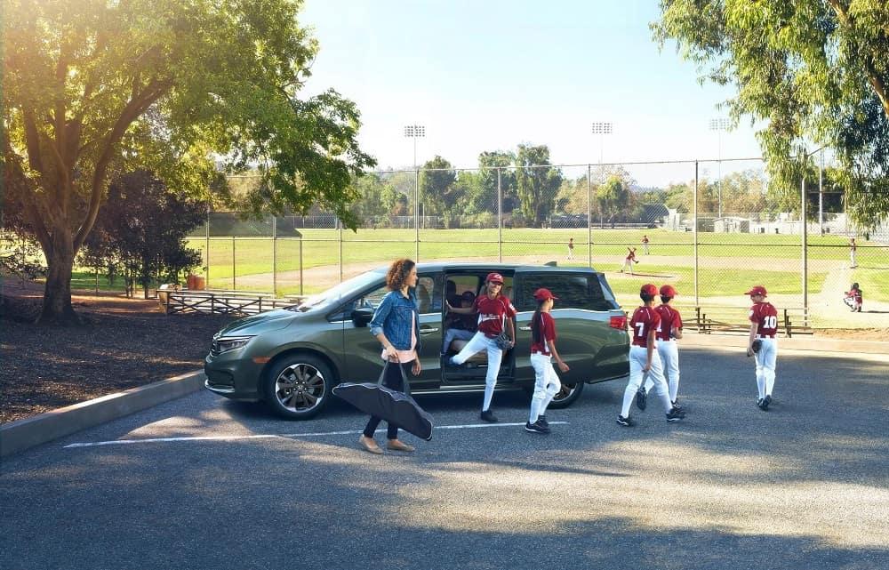 2021 Honda Odyssey Family