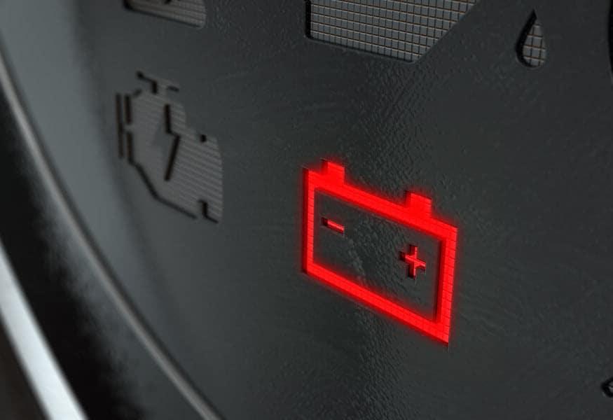 Battery Error Light