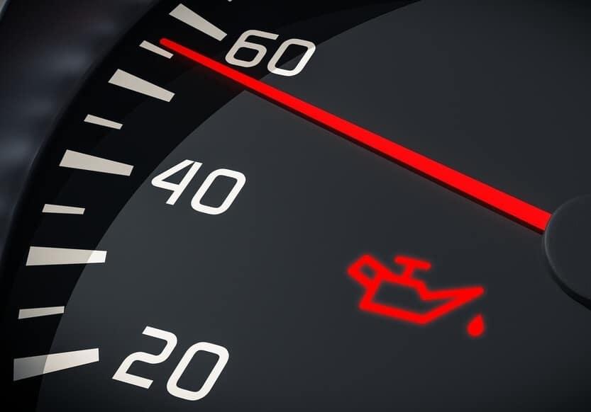 Oil Dashboard Warning Light