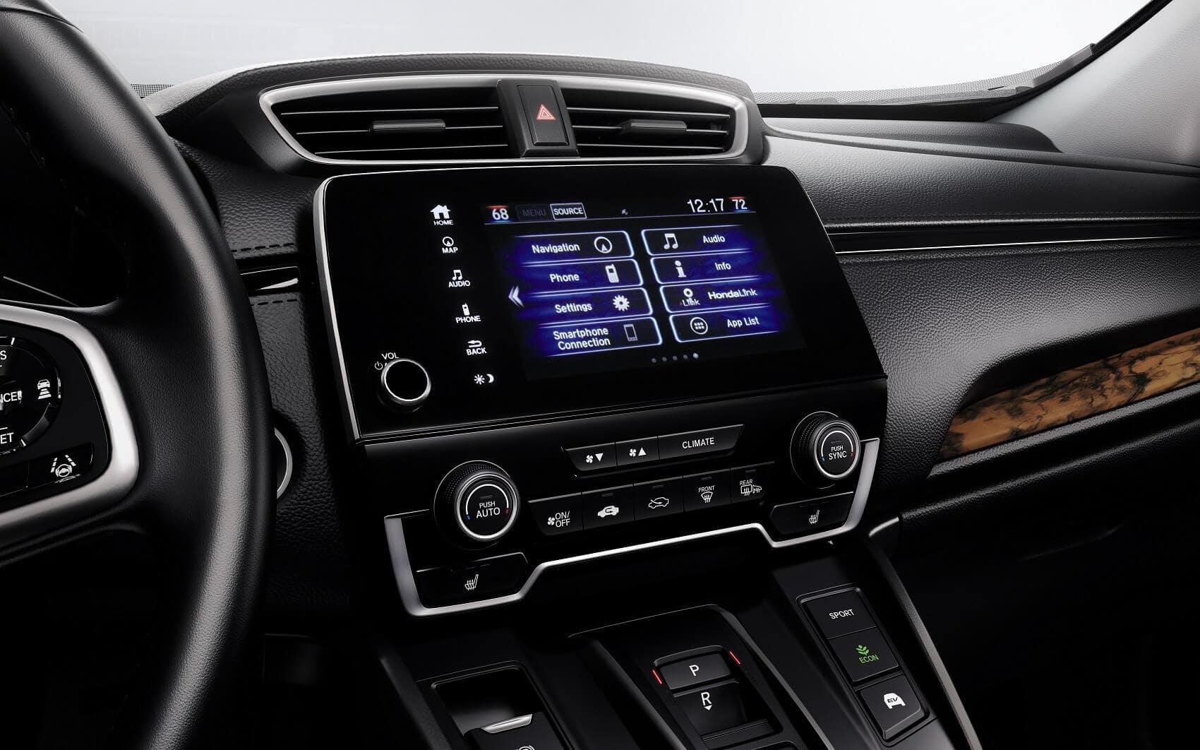 Honda CR-V Interior Technology
