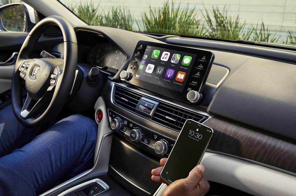 2021 Honda Accord Interior with Apple CarPlay®