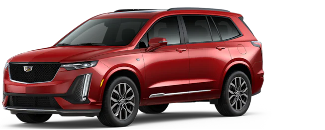 2021 Cadillac XT6 - Red - Exterior Design