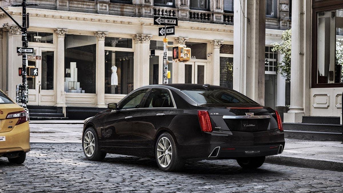 Cadillac CTS Exterior design