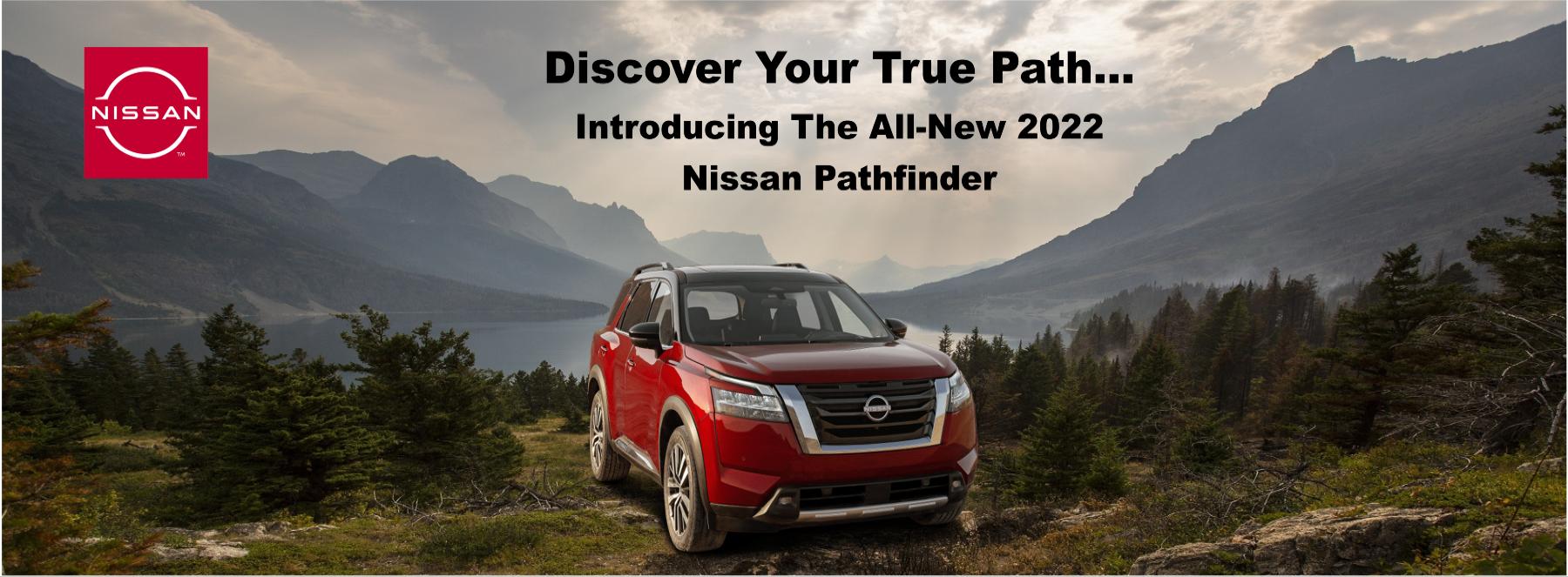 2022 nissan pathfinder banner