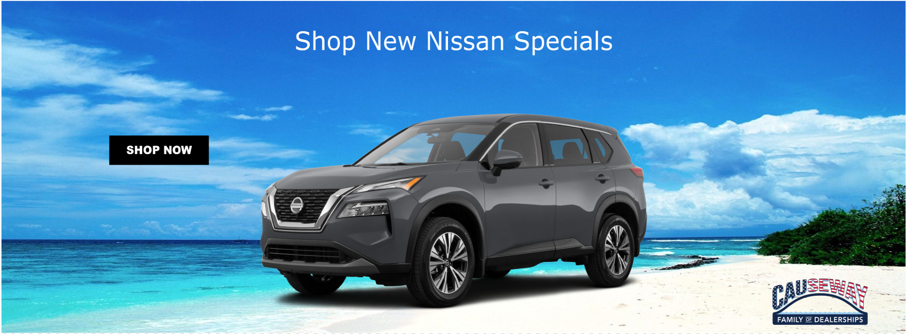 nissan new specials banner july
