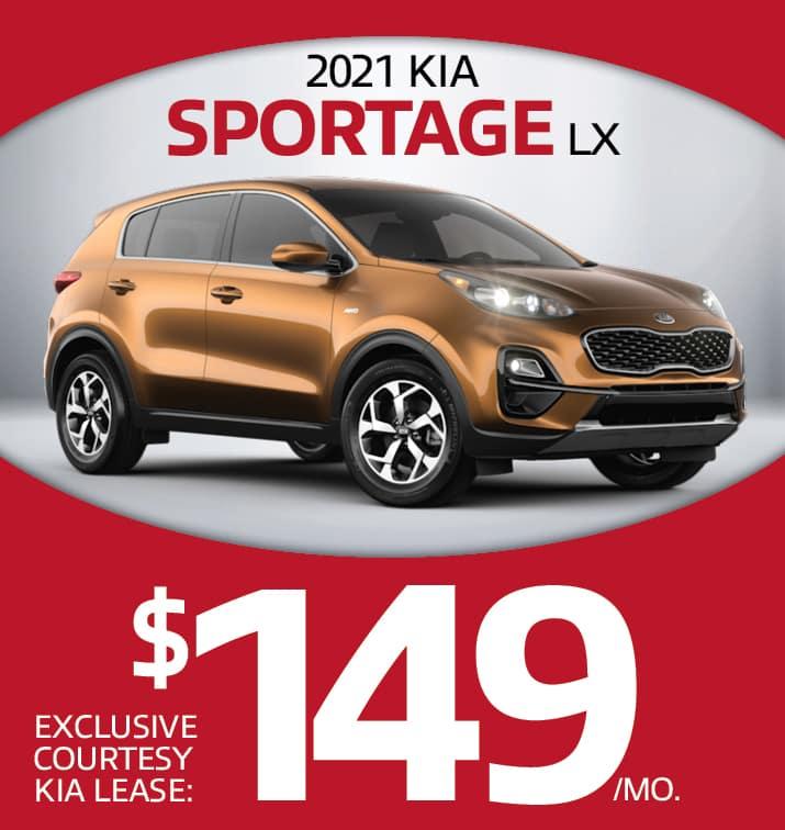 Sportage $149/mo.